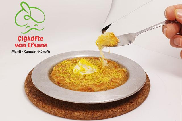 Leckere türkische Küche bei Efsane Cig Köfte