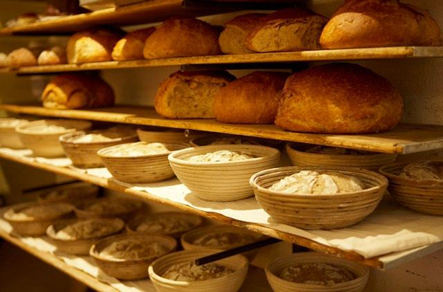 Backwaren Angebot der Brot und Feinböckerei Neulinger