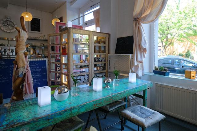 Ein Blick in das Innere des Café Kuko