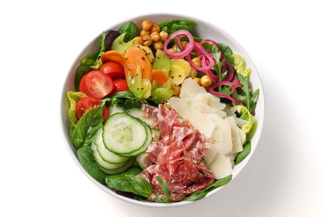 Gemischter Salat, den man bei heartbeet bestellen kann
