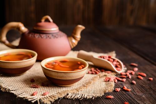 Leckerer Goji Beeren Tee