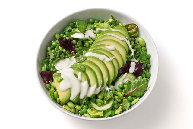 Grüner Salat, den es im Angebot von heartbeet gibt