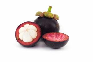 Mangostan Frucht