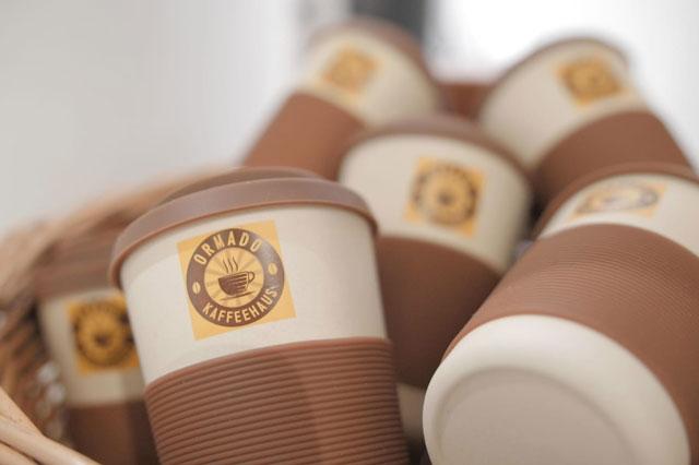 Becher des Ormado Kaffeehaus