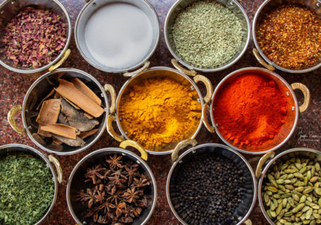 Die indische Küche des Restaurant Amrit ist bekannt für die Gewürze