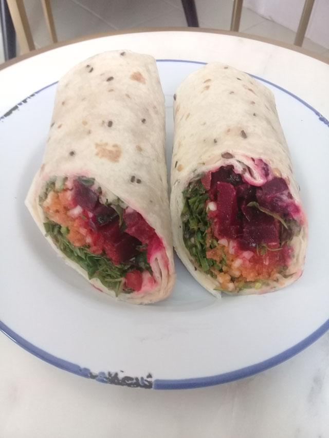 Wraps aus dem Restaurant Sweetmeat