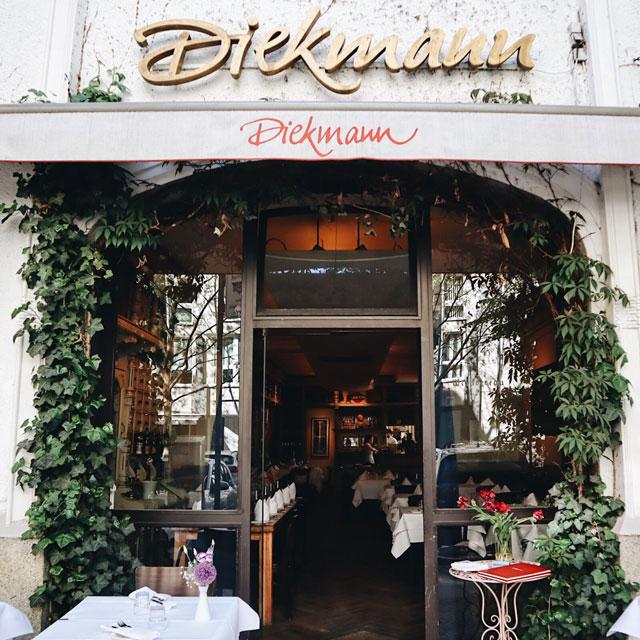 Eingang zum Restaurant Diekmann