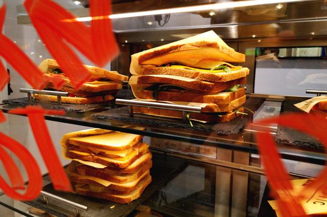 Verschiedene Toast Angebote bei Toastastic in München