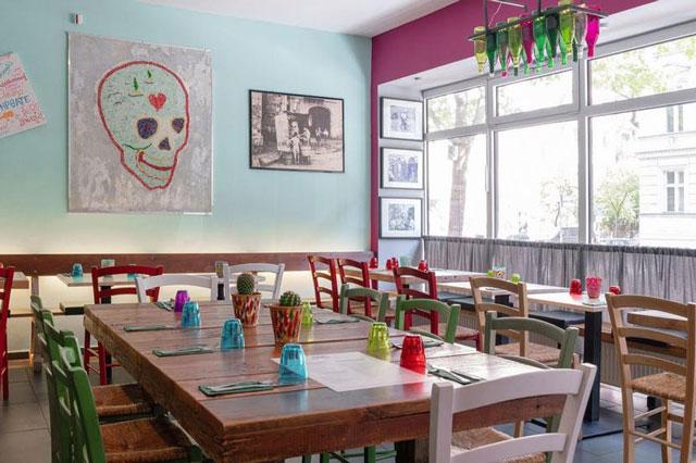Inneneinrichtung im Antonellos Cevicheria und Streetfood in Berlin