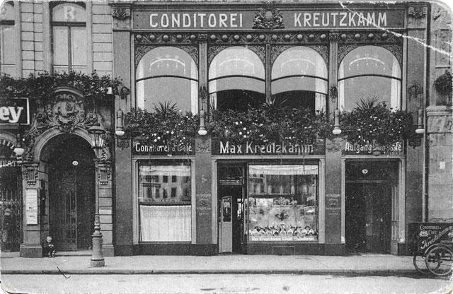Das Café Kreutzkamm gibt es schon seit vielen Jahren
