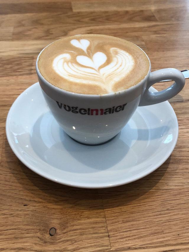 Beliebtes Heißgetränk bei der © Kaffeerösterei VogelMaier