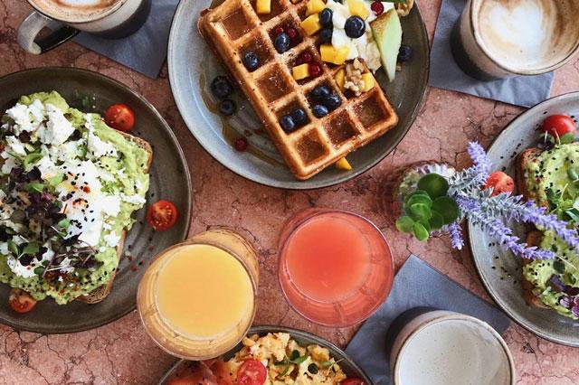 Reichhaltiges Frühstück von Mary´s Coffee Club