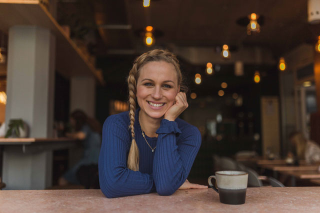 Gründerin Mary von Mary´s Coffee Club
