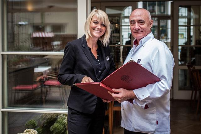 Team vom Albrechtshof und Restaurant Alvis