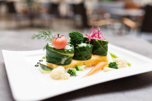 Gemüse Gericht des Restaurant Alvis