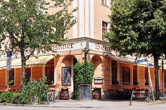 Das Sendlinger Augustiner in München